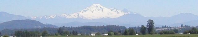 Mt. Baker WA as seen from the Canadian side